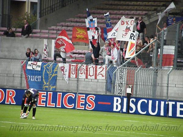 supporters rouennais