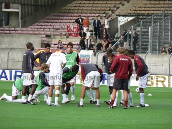 Metz devant ses supporters